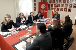Reunión del Consell valenciano en la sede del Patronato. Foto: Generalitat
