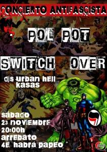 concierto noviembre antifa 2013