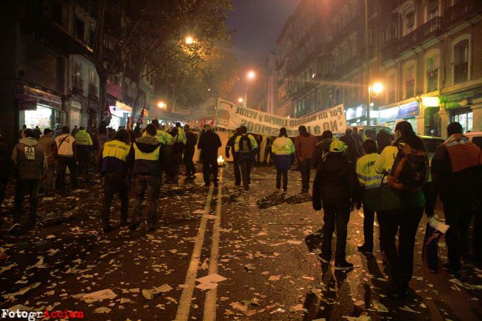 El acuerdo en la huelga de limpieza en Madrid evita los despidos a cambio de un ERE temporal