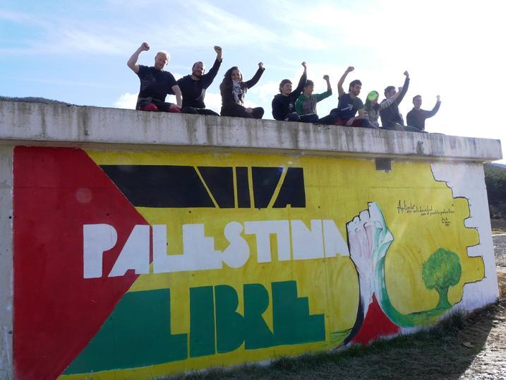 La comunidad universitaria de Zaragoza apoya al Pueblo Palestino