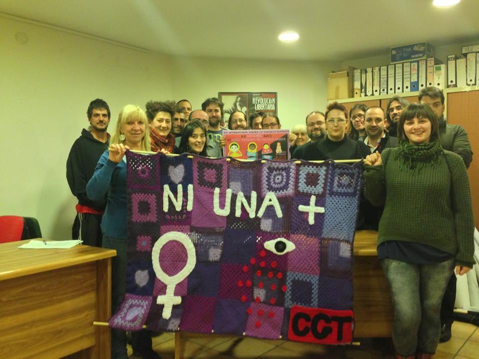 """Numerosas protestas contra el feminicidio convocadas hoy en Aragón bajo el lema """"Contra la violencia machista. Los recortes también matan"""""""
