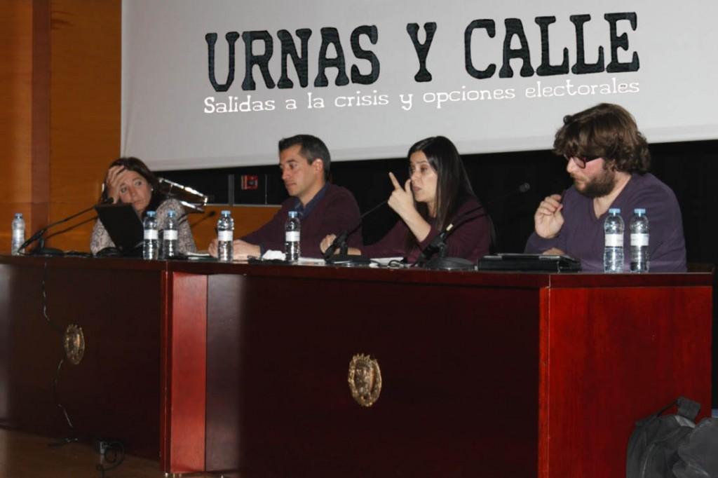 Urnas y calle: La izquierda aragonesa debate sobre las salidas a la crisis y las opciones electorales