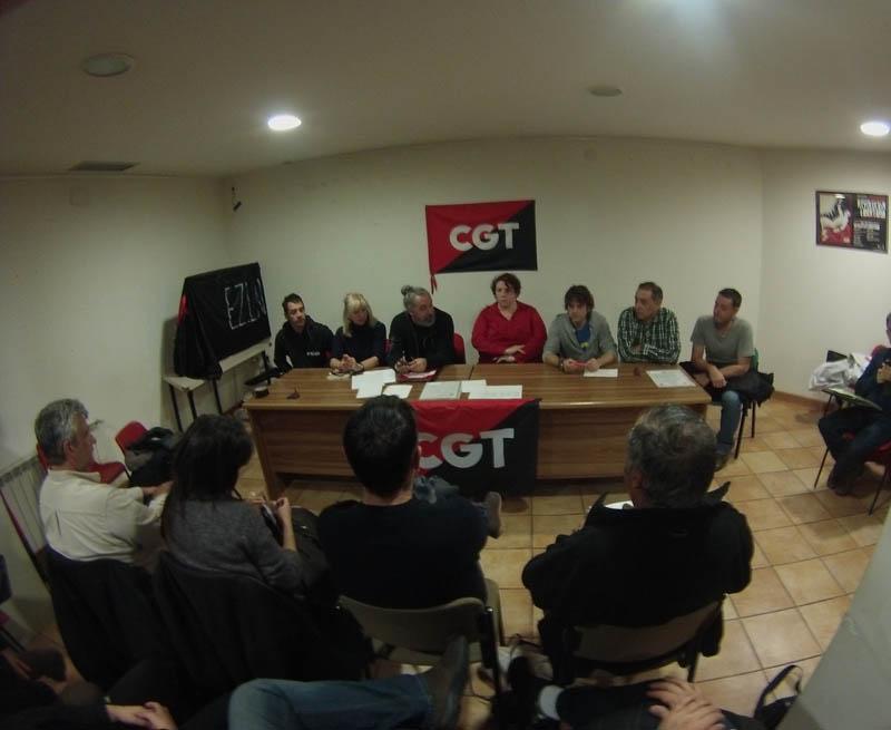 CGT Aragón renueva su Secretariado Permanente y marca dos líneas prioritarias, la sindical y la social