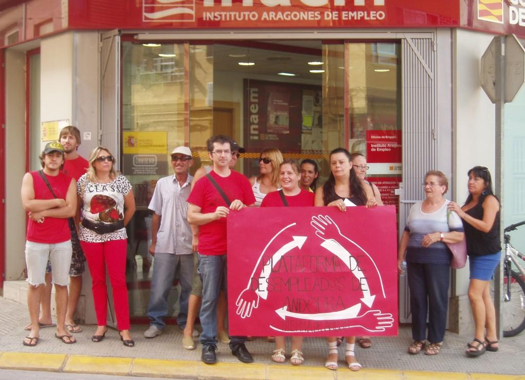 Los datos de paro registrado indican que 113.257 personas siguen sin poder acceder a un empleo en Aragón