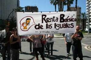 Hoy se registra en el Congreso de los Diputados la Iniciativa Legislativa Popular por la Renta Básica. Foto: Baladre