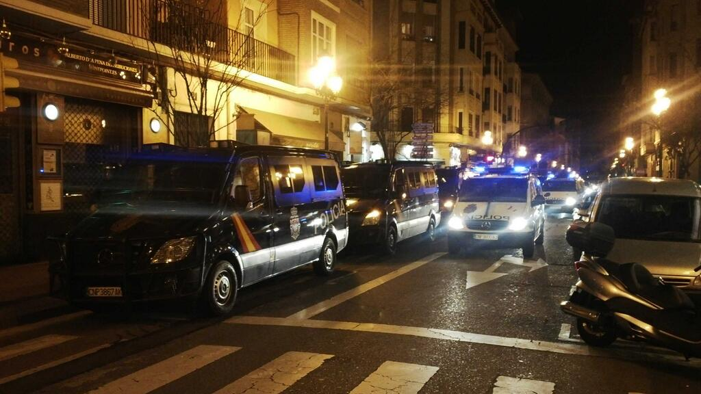 """Cinco personas detenidas en Zaragoza tras la manifestación """"Gamonal somos todas. La calle es nuestra"""""""
