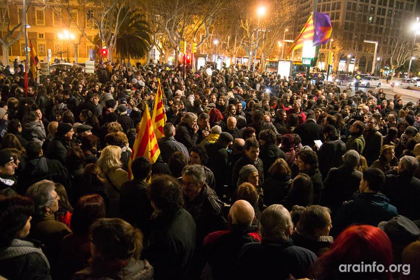 Miles de personas apoyan en Aragón la lucha y victoria del barrio de Gamonal