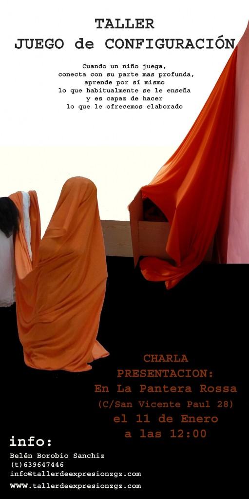Hoy en La Pantera Rossa charla y presentación del Taller de Juego