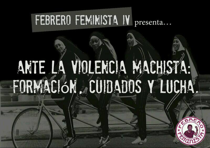 Ante la violencia machista Febrero Feminista propone «formación, cuidados y lucha»