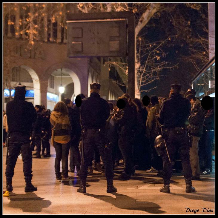 Libertad con cargos para las cuatro personas detenidas el sábado en Zaragoza