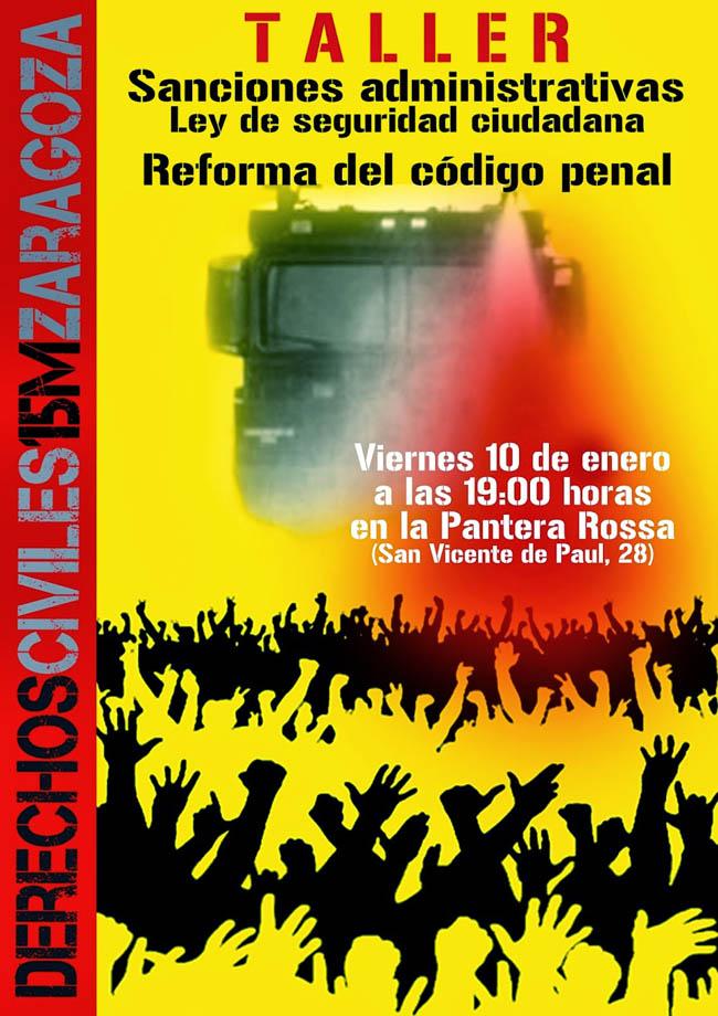El Grupo de Derechos Civiles organiza un taller sobre sanciones administrativas, código penal y ley de seguridad ciudadana