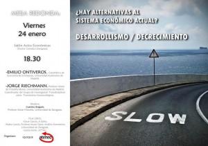 El debate, organizado por Ateneo e Iquique, tendrá lugar a las 18.30 en la Facultad de Económicas de Zaragoza.