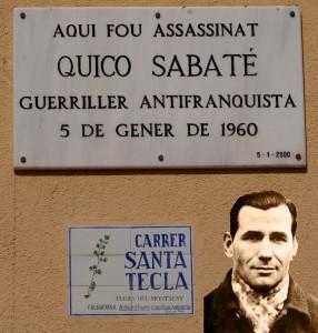 Quico_Sabaté_(Placa_a_Sant_Celoni)