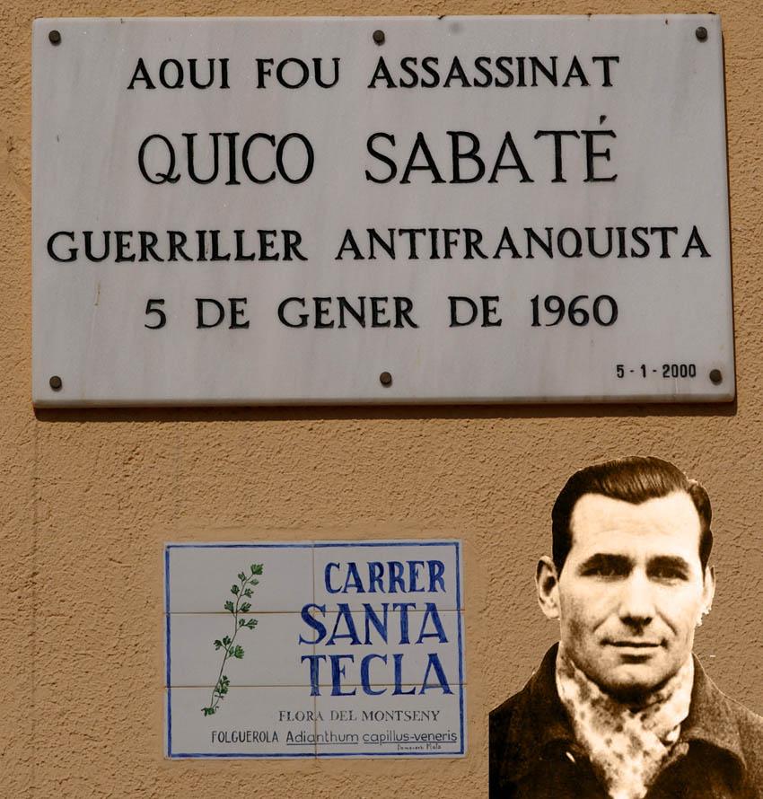 Hace 54 años era asesinado por la Guardia Civil el guerrillero anarquista Quico Sabaté