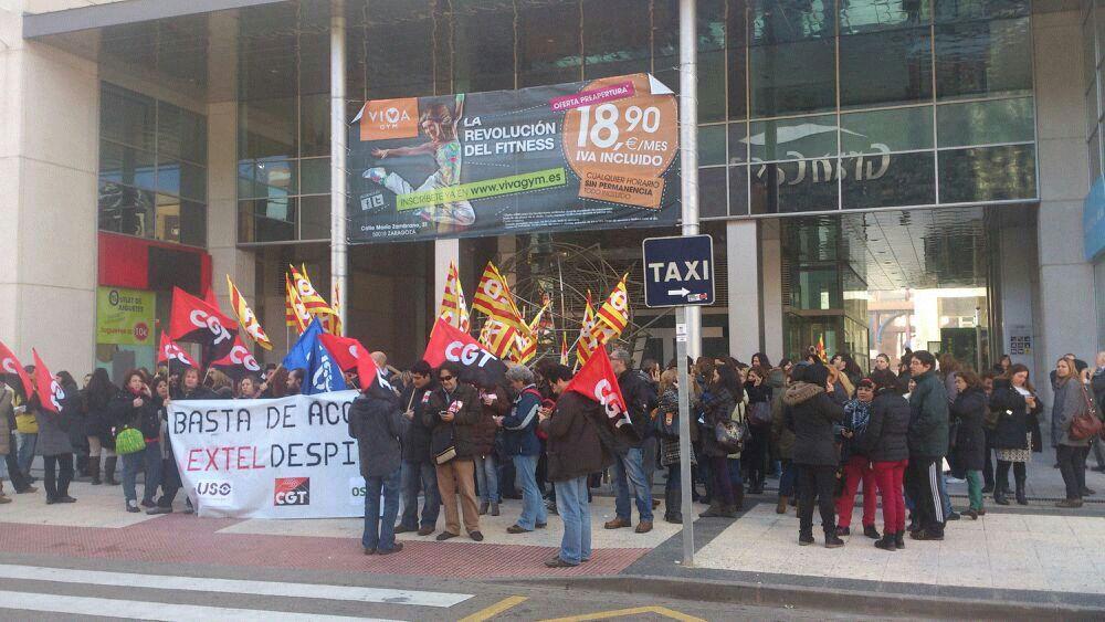 Las subcontratas de Movistar vuelven a las movilizaciones