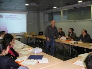 Imagen de archivo de un curso de Financiación Solidaria.