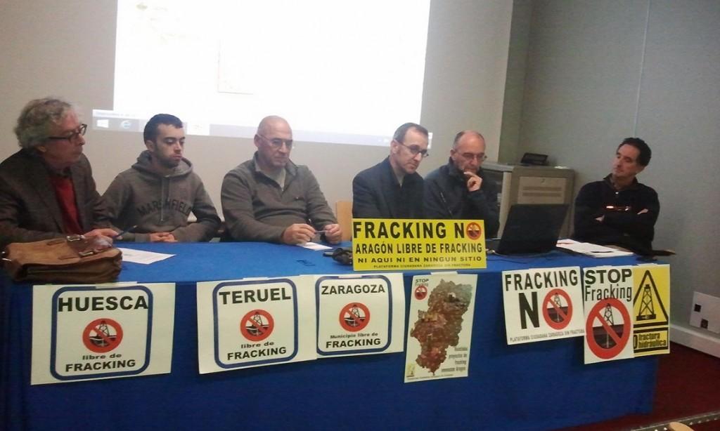 El Gobierno de Aragón desoye el mandato unánime de las Cortes que declara Aragón libre de fracking