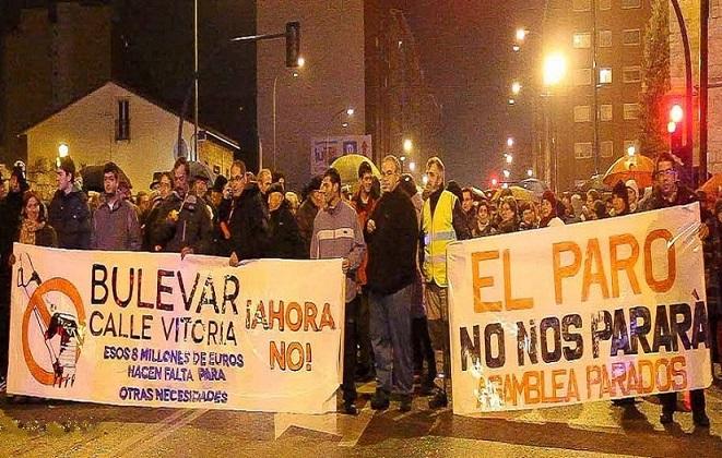 La resistencia vecinal en Gamonal se convierte en referente de dignidad de las luchas populares
