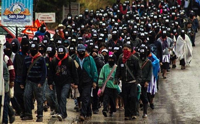 Vint anyos d'a revuelta zapatista en Chiapas