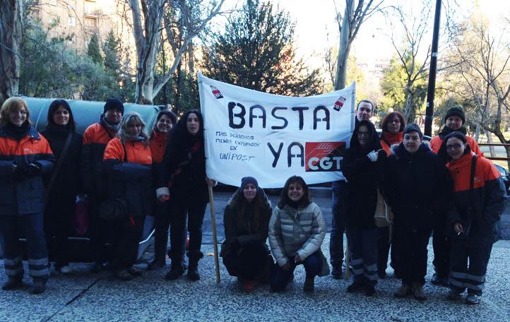 Tercera semana de huelga en Unipost con graves consecuencias por los paros