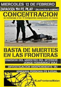 En Aragón, hay previstas dos convocatorias este martes a las 19.00 horas, en Zaragoza (en la imagen) en la plaza del Pilar -frente a Delegación del Gobierno-, y en Uesca en la plaza de Navarra.