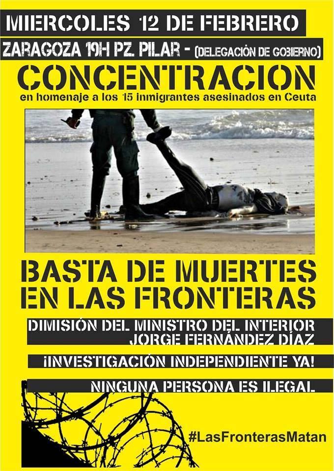 Convocan concentraciones en recuerdo a los fallecidos en Ceuta y contra las políticas migratorias