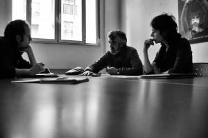 Tiempos Modernos entevista a Cristina Ulloa y Manolo Alonso (en la foto) de la Asamblea de personas Paradas de Burgos. Foto: GBDX