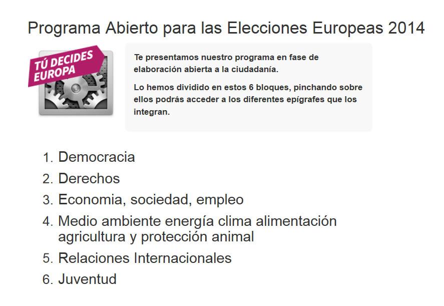 """Equo abre su programa para las europeas mediante un proceso """"abierto, participativo y transparente"""""""