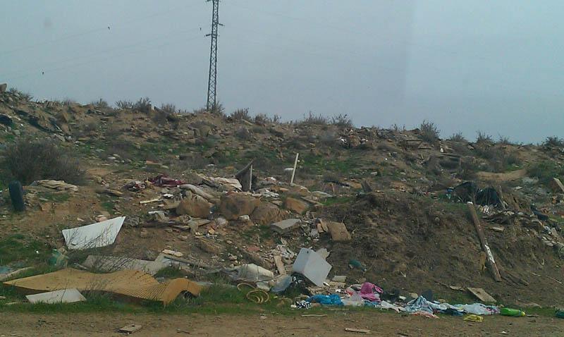 CHA denuncia los vertidos incontrolados en las escombreras de Selgua y Conchel