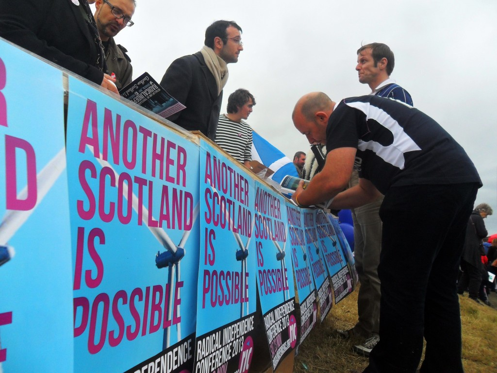 """""""La izquierda en Escocia debería apoyar la independencia"""""""