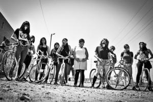 También se proyecta un trailer del colectivo Ovarian Psycos Cycle Brigade.