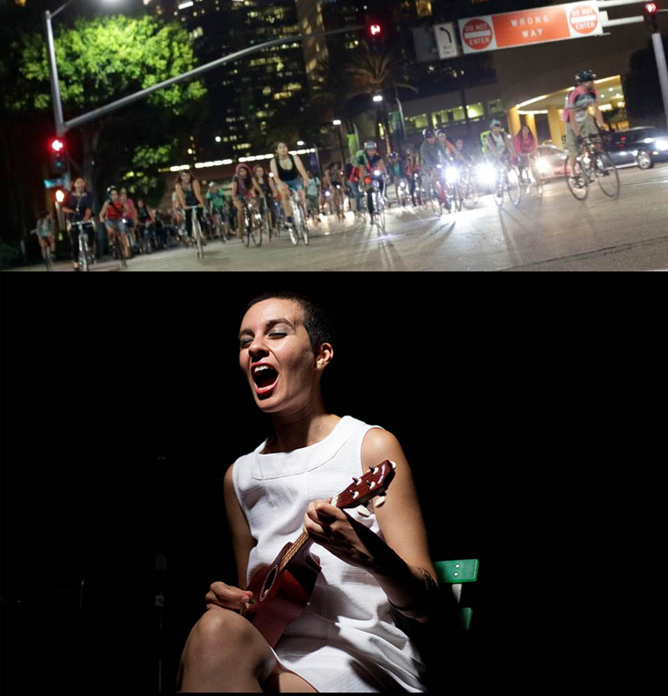 Bicifestación contra el amor romántico y concierto de Alicia Murillo hoy en Febrero Feminista