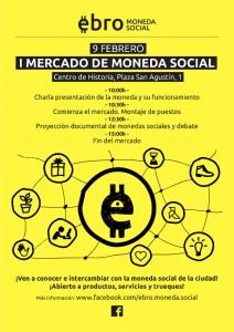 Cartel del evento que tendrá lugar este domingo en Zaragoza.