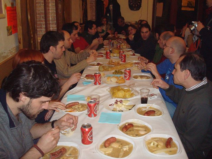 Nogará Religada celebra o Chueves Lardero en Zaragoza