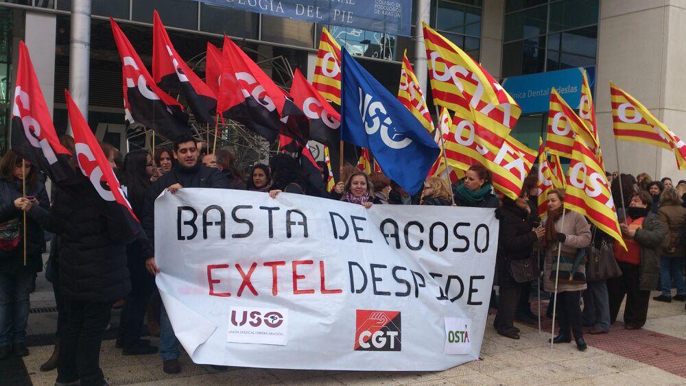 En solidaridad con la plantilla de Extel