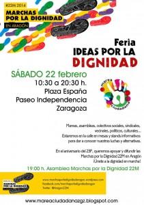 El acto se enmarca dentro de las actividades programadas para impulsar las Marchas por la Dignidad de Aragón, que comenzarán el 5 de marzo en Alcanyiz y llegarán a Madrid el día 22 de dicho mes.