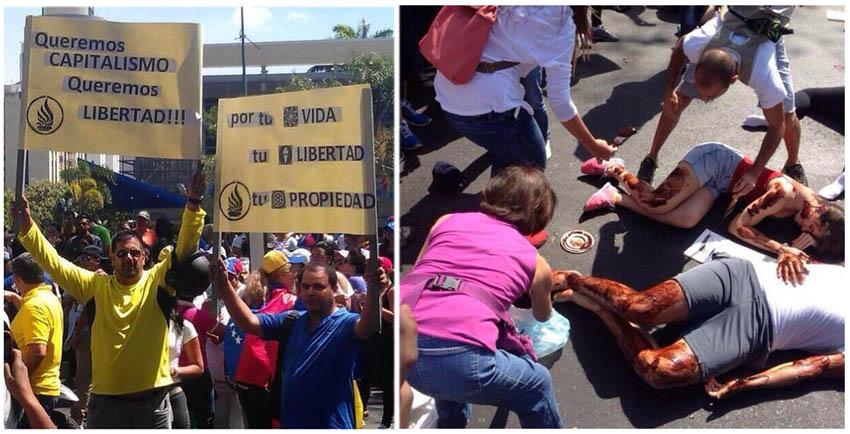 Sectores de la oposición generan violencia y muertes en Venezuela