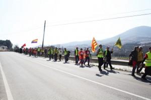 Foto: Marchas por la Dignidad en Aragón.