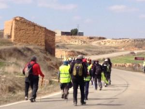 Marcha por la Dignidad de Aragón. Foto: Amparo Bella