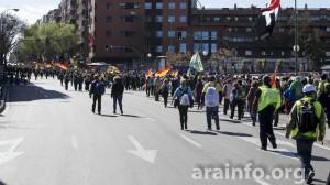 Marchas por la Dignidad en Madrid el pasado año. Foto: AraInfo