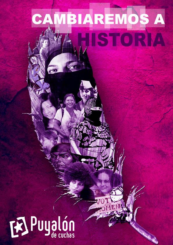 """Puyalón: """"Somos mujeres libres y sabemos que nuestra desobediencia puede hacer tambalear el sistema de injusticias"""""""