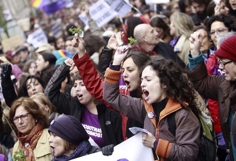 Convocatorias para el 8 de Marzo en Aragón