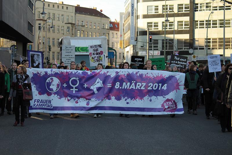 Frauenkampftag: crónica de un 8 de marzo en Berlín