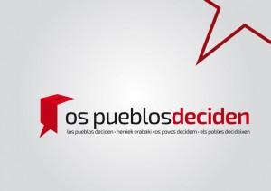 """La candidatura tiene dos ejes principales: """"la defensa de los Pueblos a decidir su futuro y la confrontación a la troika""""."""