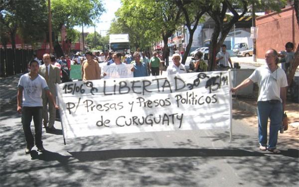 Presos políticos de Paraguay en huelga de hambre desde hace más de un mes
