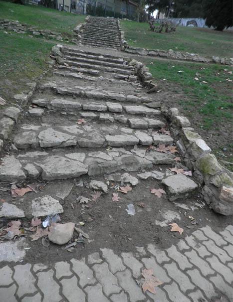 Denuncian la degradación del parque Castillo Palomar en Delicias
