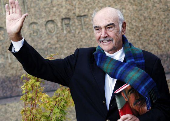 Sean Connery: «No hay nada más creativo que crear una nueva nación»