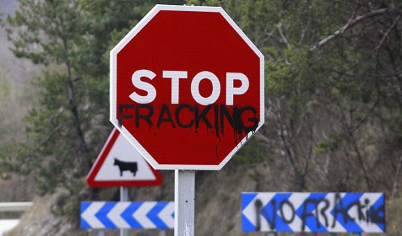 Aragón protesta contra el fracking