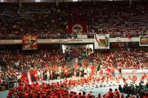 VI Congreso del Movimiento de los Sin Tierra en Brasilia Foto: Manuel Flores