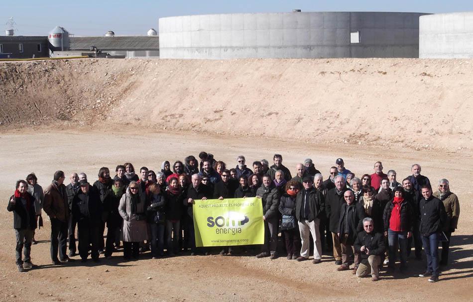Som Energia inaugura una planta de Biogás para generación eléctrica en Torregrossa